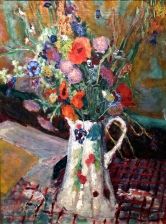 """Paris Bouquet of Wild Flowers"" (1923) by Pierre Bonnard"