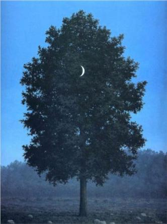 """Sixteenth of September"" (1956, oil on canvas) by Rene Magritte"