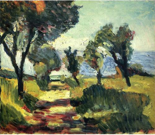 Henri Matisse Olive Trees 1898