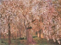 """Cherry Tree Blossoms""by Jozsef Rippl-Ronai"