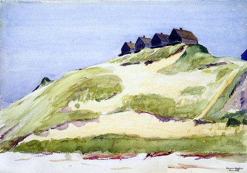 Edward Hopper Corn Hill c1930