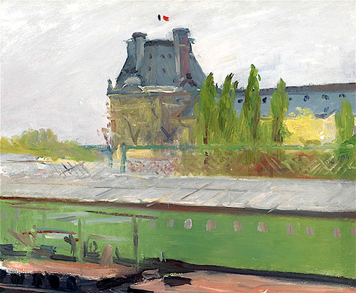 Edward Hopper Le Pavilion de Flore in the Spring 1907
