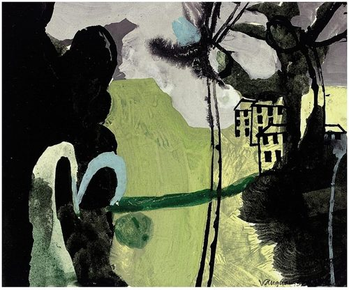 Keith Vaughan Green Landscape 1952