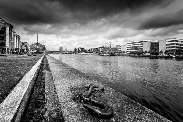 Liffey River, Dublin by Roberto Taddeo FCC