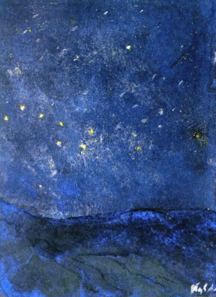 Emil Nolde Starry Sky 1938-45