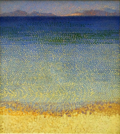Henri Edmond Cross The Iles d'Or  The Iles d'Hyeres, Var 1892
