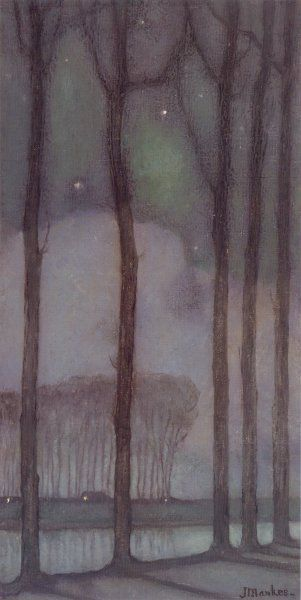 Jan Mankes Maanacht 1914