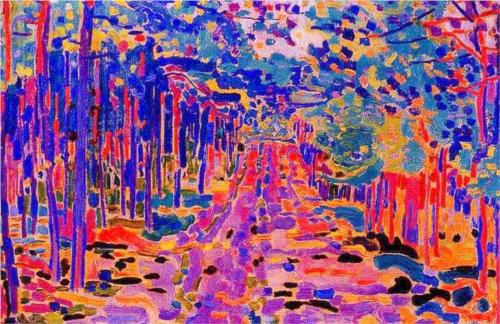 Jan Sluyters Forest Trail 1910 oil on canvas