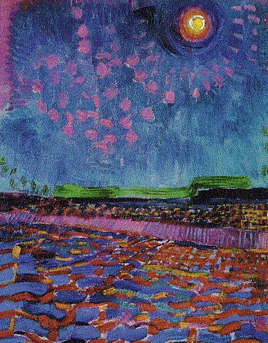 Jan Sluyters Moon Night