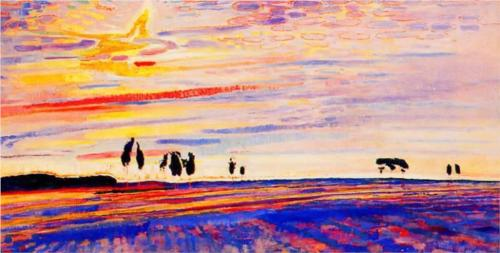 Jan Sluyters Morning Glory 1909 oil on canvas