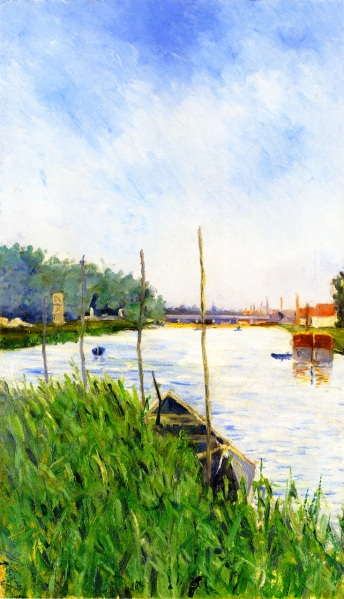 Paul Signac Asnières oil on canvas 1882