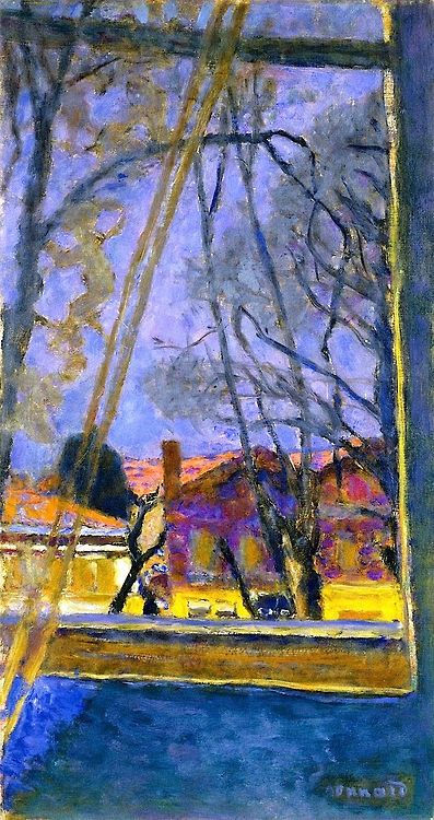 Pierre Bonnard Landscape through a Window c1918