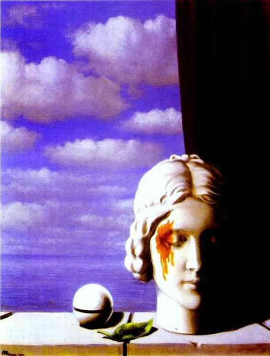 Rene Magritte Memory 1948 oil on canvas