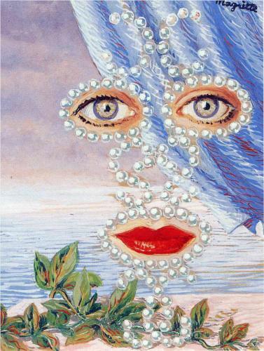 Rene Magritte Sheherazade c1950