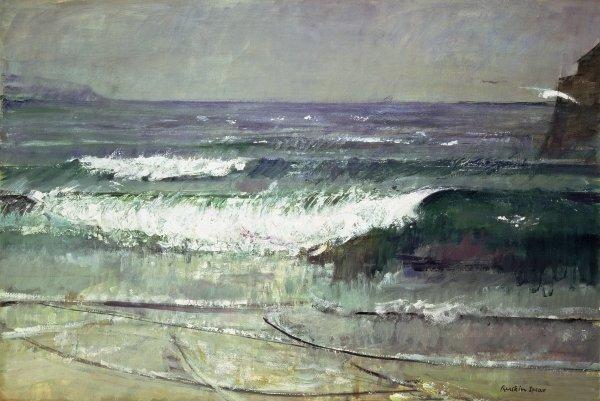 Ruskin Spear The Wave, Gorran Haven 1960s
