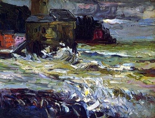 Wassily Kandinsky Stormy Day 1906