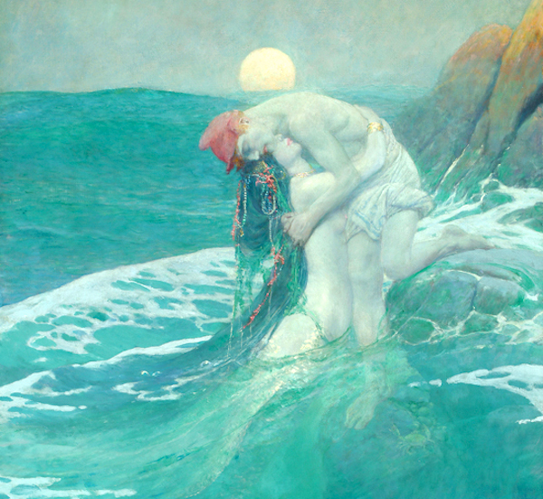 Howard Pyle The Mermaid 1910