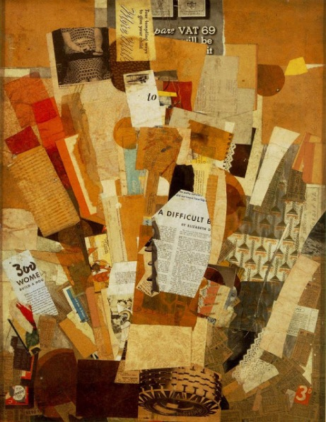 Kurt Schwitters 1942-43 Difficult