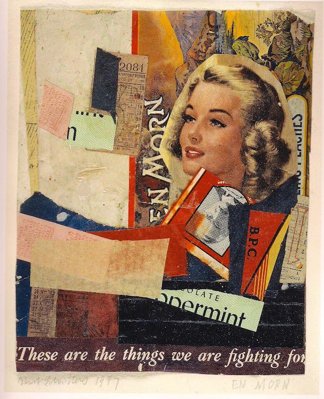 Kurt Schwitters EN MORN, 1947