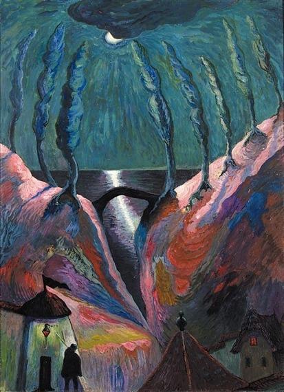 Marianne von Werfkin Nuit Fantastique, c1910