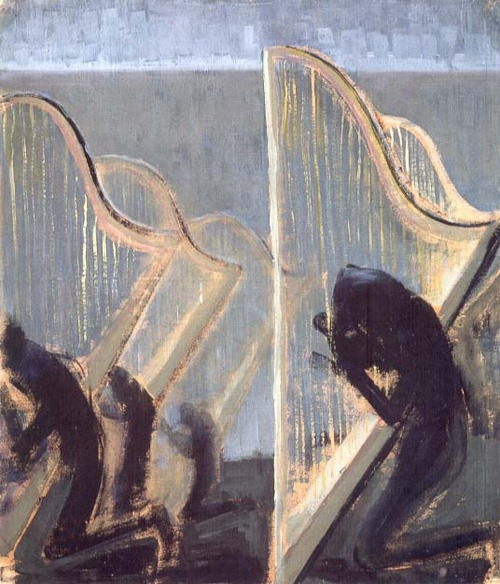 Mikalojus Konstantinas Čiurlionis Hymn III 1906 tempera and oil on paper