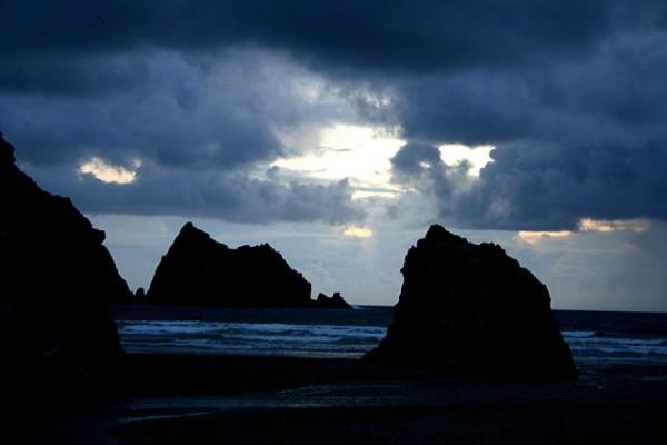 Night Sky, Cornwall UK by Karen FCC