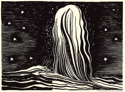 Rockwell Kent illustrations from Moby Dick