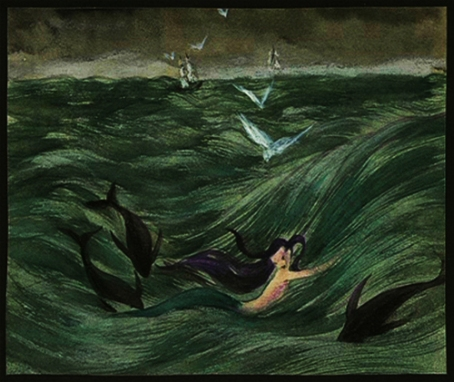 """Siren""(1941, illustrationby Kay Nielsen"