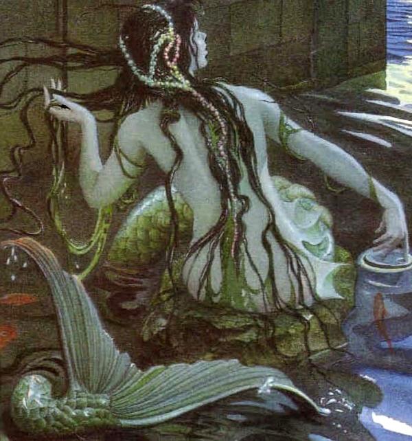 The Little Mermaid by Charles Santore