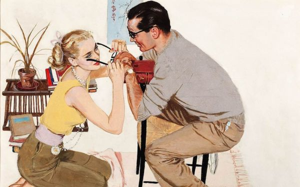 Ladies Home Journal Illustration by Coby Whitmore 1959