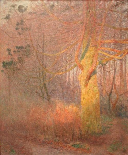 MSKG - Zonnige boom - Emile Claus (1900)
