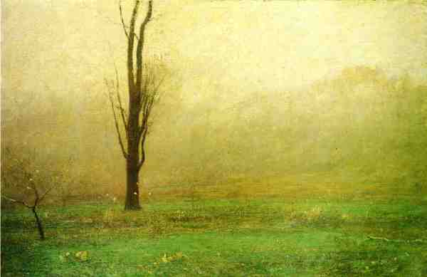 John Francis Murphy October Mist 1902 oil on canvas