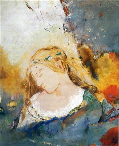 Odilon Redon Ophelia