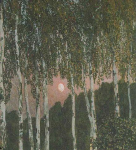 A Golovin Birches 1908-10