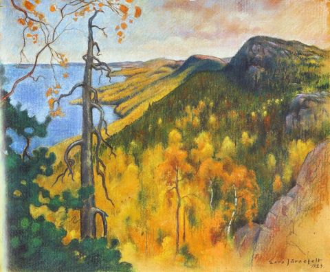 Eero Järnefelt View from Koli 1923