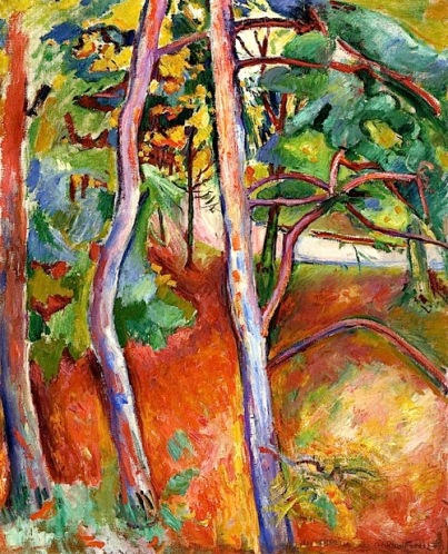"""Autumn"" (1906, oil on canvas )by Emile Othon Friesz"