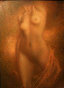 """""""La Septième Symphonie"""" (nd, oil on canvas)"""
