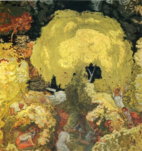 Pierre Bonnard Autumn colon The Fruit Pickers 1912 oil on canvas