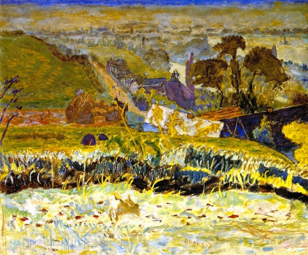 Pierre Bonnard Autumn Morning 1922