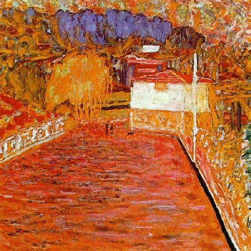 Pierre Bonnard Le Cannet, La Route Rose 1913