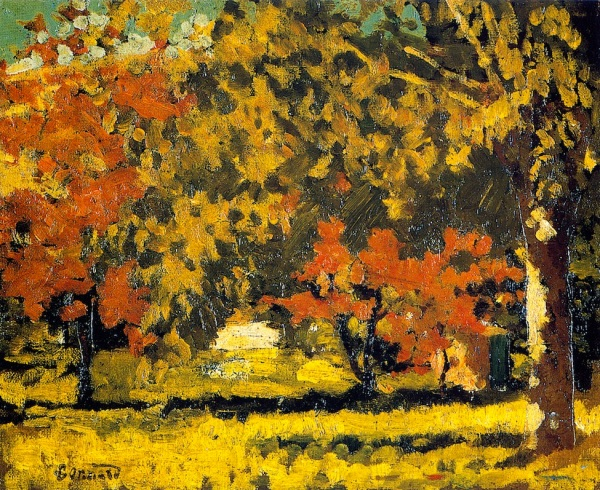 Pierre Bonnard The Grand-Lemps, Autumn 1894