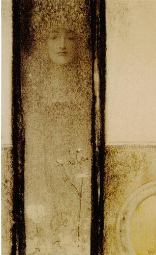 Fernand Khnopff Woman of Mystery 1909