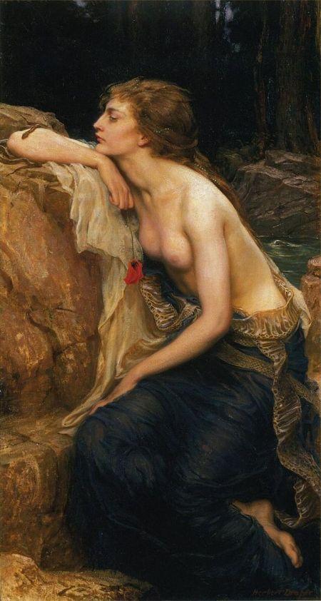 Herbert James Draper The Lamia 1909