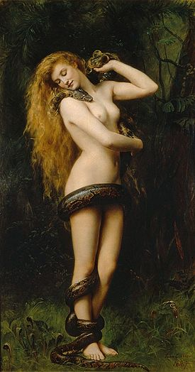 Lilith by John Collier 1892