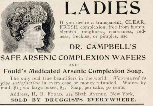 Arsenic for everything