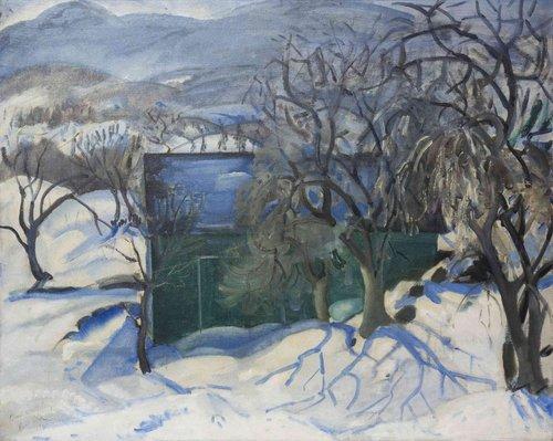 Boris Anisfield Stony Point, New York 1925 oil on canvas