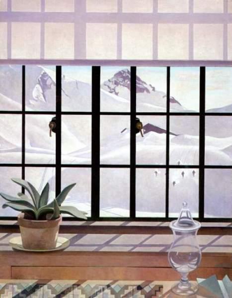 Charles Sheeler Winter Window 1941