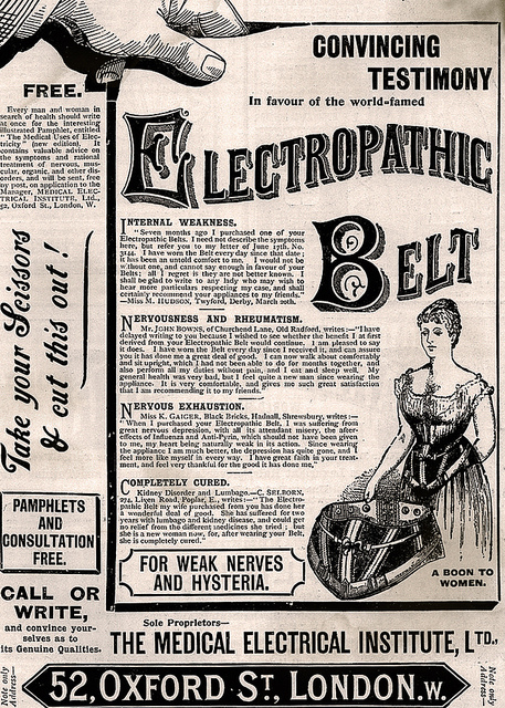 electropathic belt lolas curmudgeonly musings about