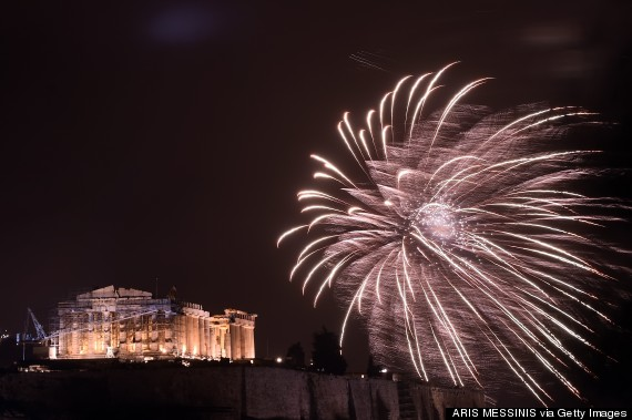 GREECE-NEW YEAR