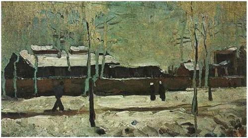 Vincent van Gogh The Old Station at Eindhoven 1885